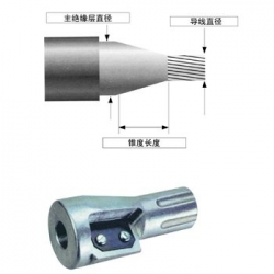 WS8高压电缆剥皮器 主绝缘层削尖器