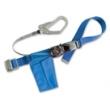 RN-590(日FUJII) 编织绳大挂钩单腰带式安全带