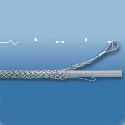 侧拉型包覆式拉线网套
